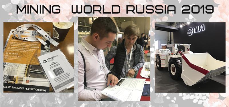 Международная выставка MiningWorld Russia 2019